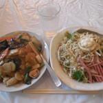 台湾料理 海鮮館 - 冷し中華&中華丼 ¥750-
