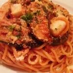 きゃべつ - 茄子とモッツアレラチーズのボロネーゼ