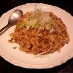 きままの台所 - 「ガーリック炒飯」です。