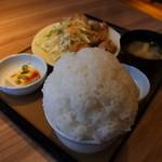 やよい軒 - 料理写真:塩から揚げ定食
