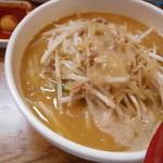 味噌麺処 楓 - 味噌ラーメン+チンピラ玉子 950円