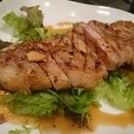肉食ダイニング あさひ - ガーリックポーク