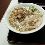 銀座一福 本店 - ワンタン麺