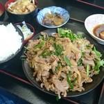 古都 - スタミナ焼肉定食