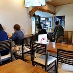 源七 くろとり食堂 - テーブル席 & カウンター席(2016年5月)
