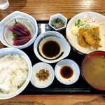 源七 くろとり食堂 - 日替ランチ(ごはん大盛)(2016年5月)