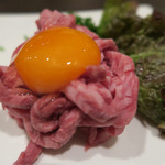 焼肉の蔵 - 料理写真:ユッケ