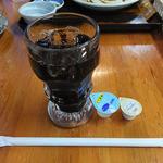 みはらし - 「ポークステーキセット」の飲物(アイスコーヒー)(2016年5月)
