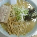 ラーメン寳龍 - 味噌ラーメン[黒帯](税込み801円)