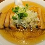 中華そば カリフォルニア - 煮干チャーシュウ麺