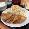クレヨン - 料理写真:日替わりランチ(しょうが焼き)¥630