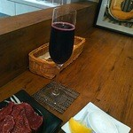 リセットボタン - スパークリングワイン赤と馬刺し