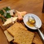 リセットボタン - チーズいろいろ