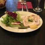 ユリイカ - 鶏肉と茸のテリーヌ