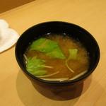 すし秀 - 味噌汁