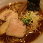 今日から - 魚介スープの杉樽(スギタル)しょう油ラーメン@700円