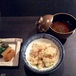 和彩膳所 楽味 - 香の物と赤出汁