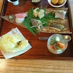 文治郎 - どれも申し分無いくらいに美味しかったです!       天ぷらは筍、玉蜀黍、はすいも(だったような?)でした。
