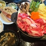 姫物語 - 料理写真:峰野牛すき焼き御膳