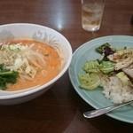 51251958 - 担々麺&回鍋飯