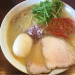 51252148 - 鶏白湯(塩)大盛 味玉トッピング