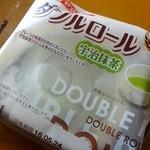 たけや製パン - ヤマザキ「ダブルロール」宇治抹茶