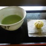 茶席 - 料理写真:抹茶と和菓子