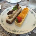ミュゼ・ドゥ・アッシュ - バナナブラウニー     パッションマンゴー       どちらも  ¥454