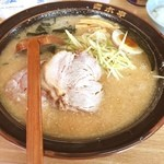 ラーメン青木亭 - チャーシュー麺 みそ
