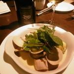 51257156 - 蛤と野菜のヴァプール、白ボトル