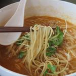 あじわい酒房 扇鶴 - 福岡県産のラーメン専用小麦から作られたラー麦麺のタンタンメン。