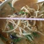 まるす食堂 - 料理写真:味噌ラーメン550円