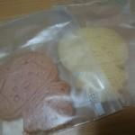 ひさごCAFE - きぼっこちゃんクッキー(300円) 2枚入ってました!