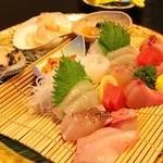 夢遊華 - 夕食:お刺身