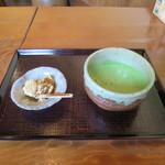 島の茶屋 あぶらや - 抹茶セット