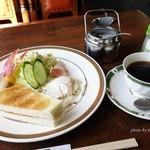 喫茶軽食ハッピー - 料理写真:2016年3月 モーニング(ホットコーヒー)【700円】
