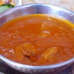 インド料理 ニサン - チキンカレー