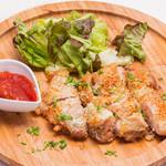 rib's - 鶏の香草パン粉焼き