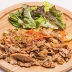 rib's - 生姜焼き