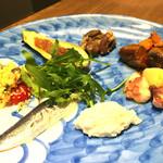 TRATTORIA BUBU - 料理写真:前菜盛り合わせ