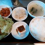 韓国亭豚や - プルコギ定食 メイン以外