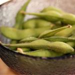 串カツ 青山七丁目 - 枝豆