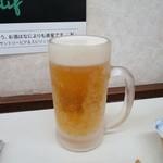 立ち呑み処おかの - 生ビール