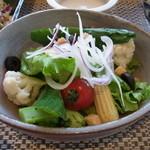 ごはんとわたし - 10品目の野菜サラダ