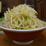 ラーメン二郎 - 小ブタ、野菜(2016年4月5日)