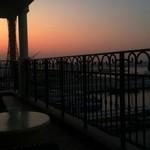 ホテル ラ・スイート神戸ハーバーランド - 部屋からの眺め 朝