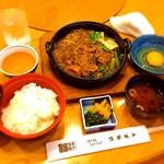 51271519 - ランチのすき鍋(1300円)