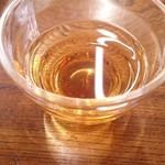 お茶の洞之園 - 冷たいお茶