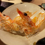 第三春美鮨 - 海老の頭