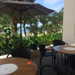 タイガービーチカフェ - のんびりと